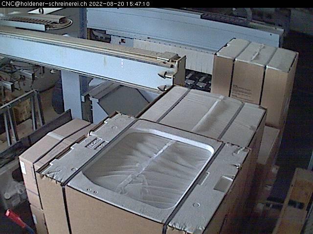Holdener Schreinerei AG CNC Webcam